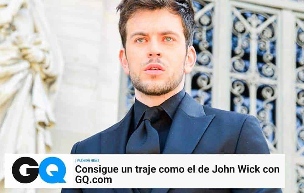 Consigue un traje como el de John Wick con GQ.com