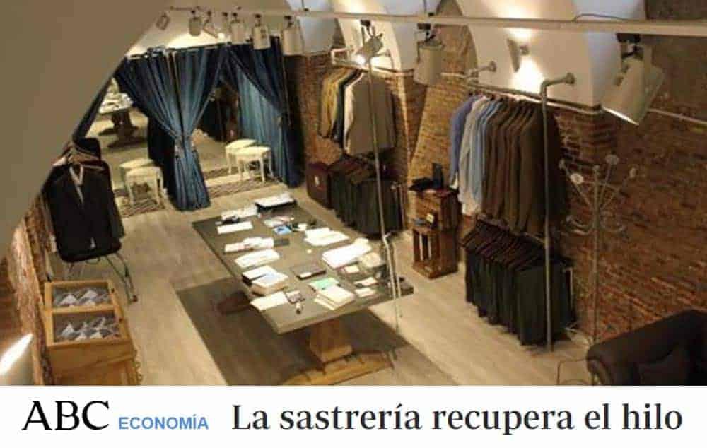 ABC El showroom que Bere Casillas tiene en la calle Marqués de Duero, de Madrid