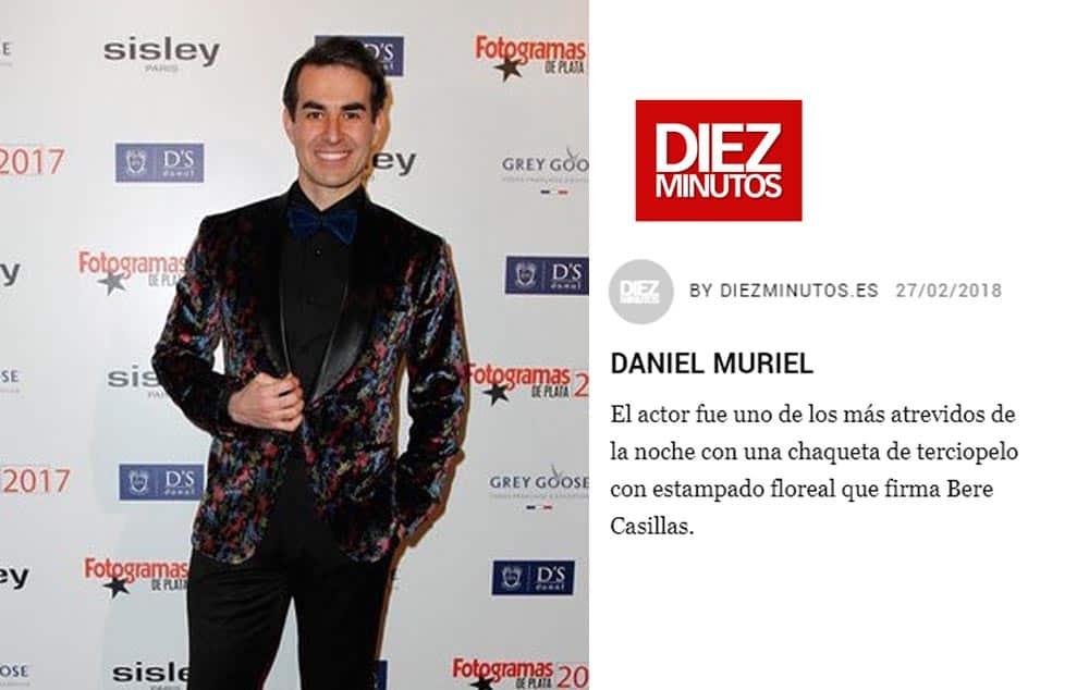 Bere Casillas presente entre los looks de los invitados a la Gala de los Fotogramas de Plata.