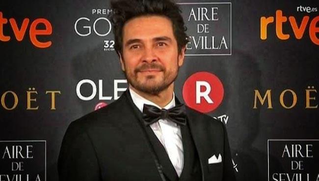 El actor José Manuel Seda - Premios Goya