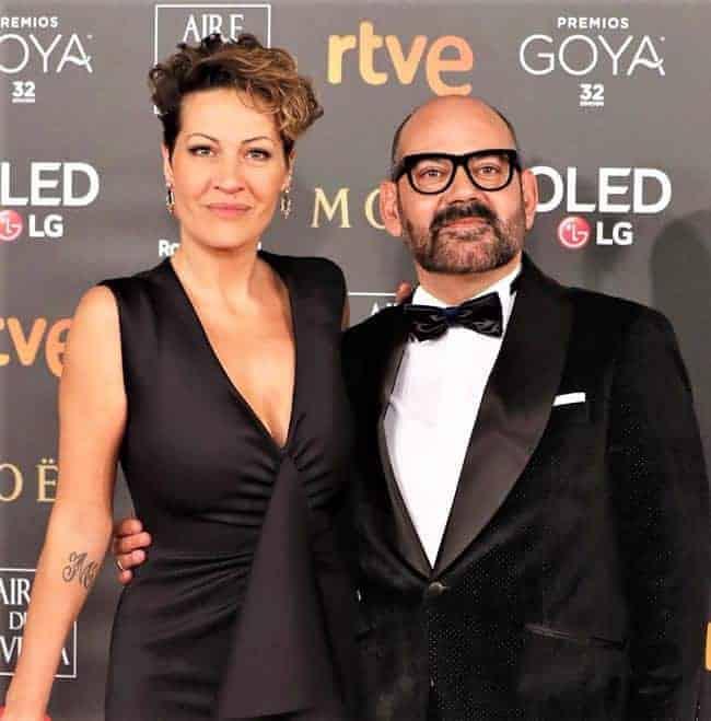 José Corbacho y Mónica Mira en los Premio Goya