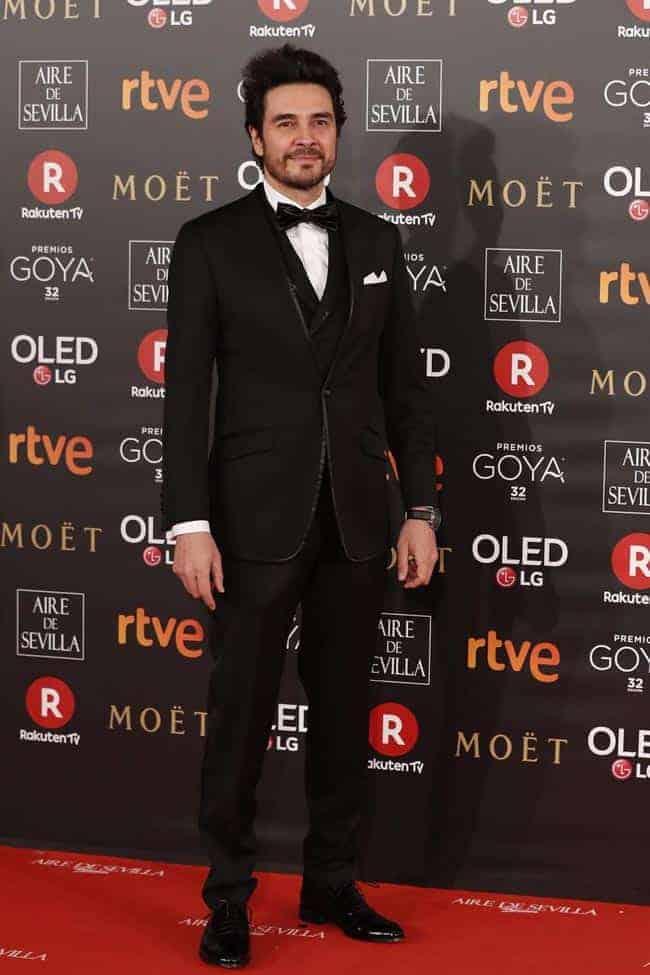 José Manuel Seda, de Bere Casillas, en los Premio Goya