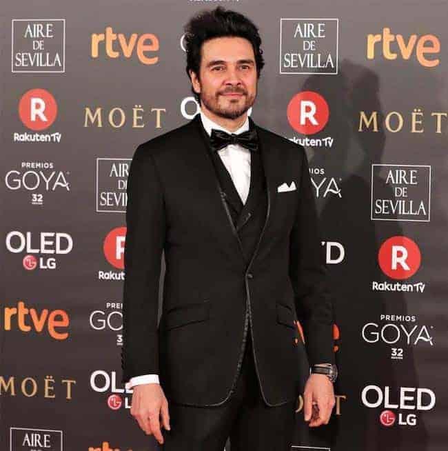 José Manuel Seda, de Bere Casillas, en los Premio Goya (1)