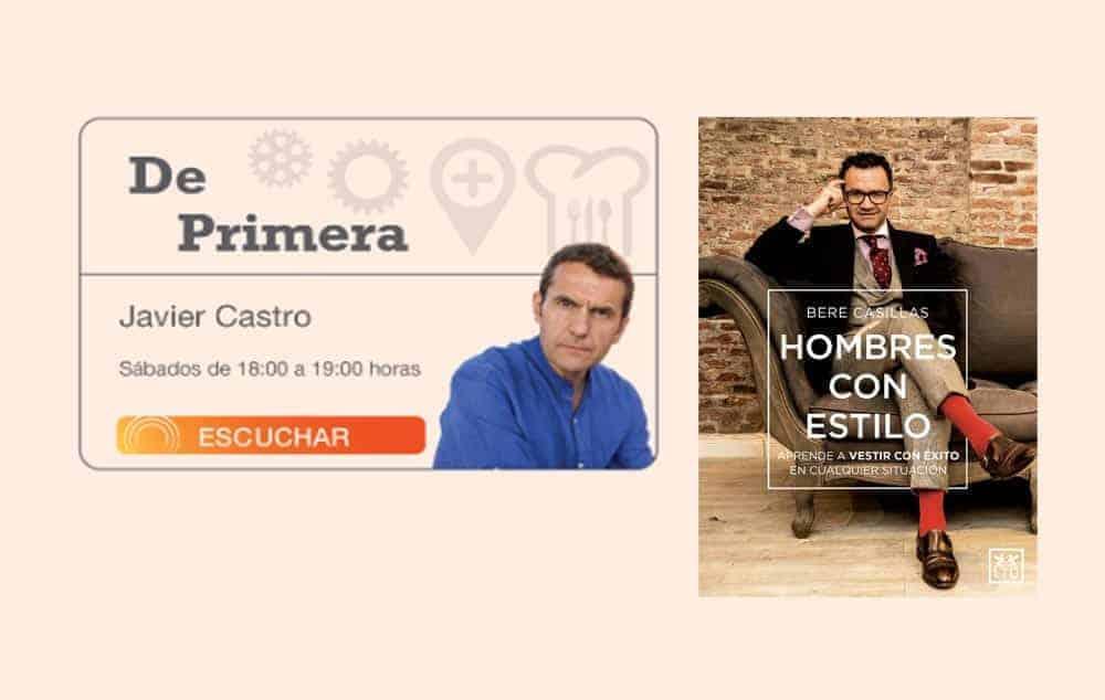 """Bere Casillas en el programa de Intereconomía, """"De primera""""."""