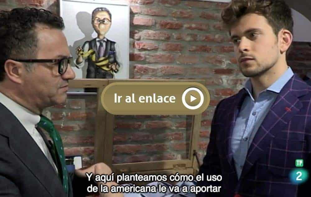 """Bere Casillas en el programa de TVE """"Zoom Tendencias"""""""