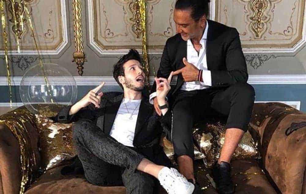 El cantante mexicano Alejandro Fernández con americana Bere Casillas en su nuevo videoclip.