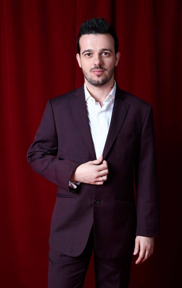 Fernando Tielve con traje de Bere Casillas en el Festival de Málaga (2)