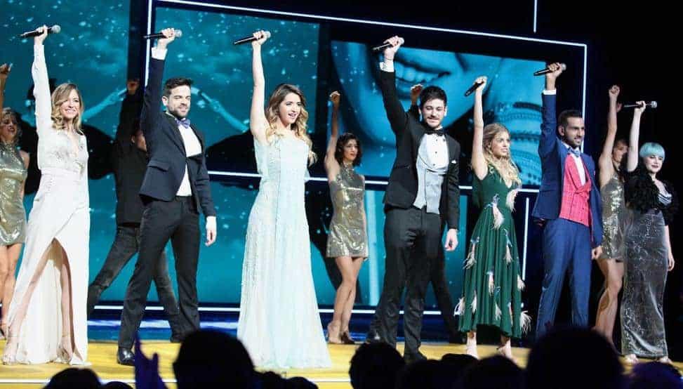 Actuación en los Premios Forqué (2)