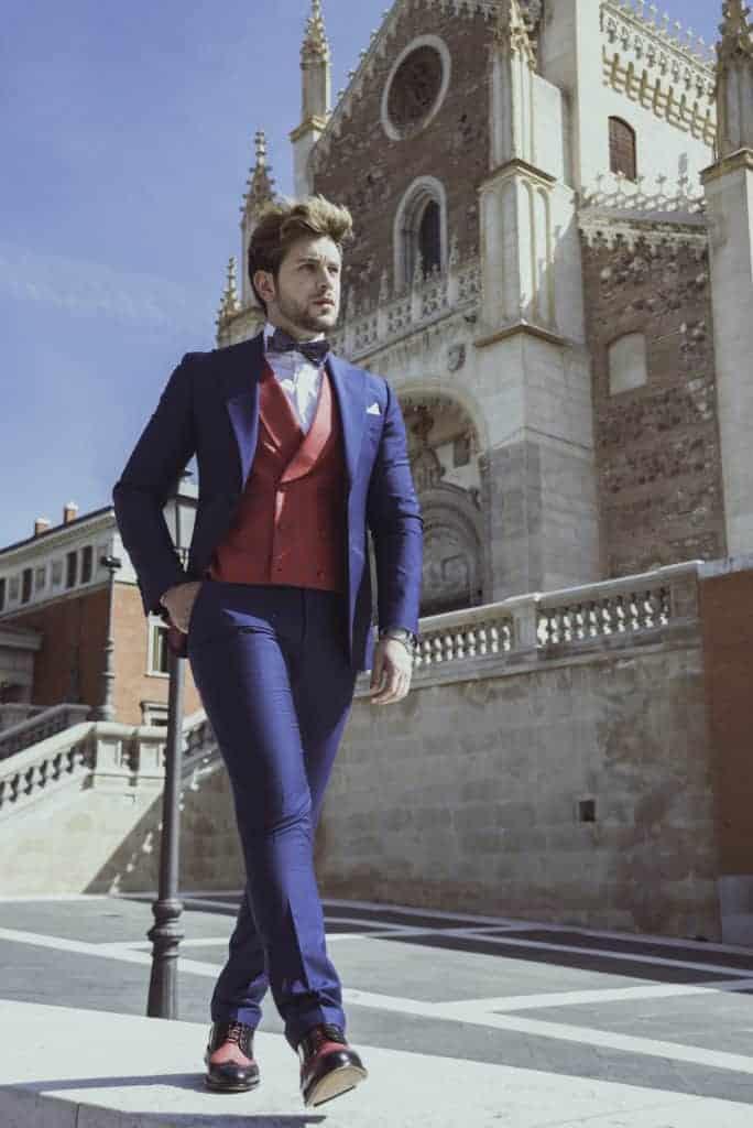 Gautier 2 - Bere Casillas diseña suprimera colección de zapatos con los tejidos de sus trajes y americanas.