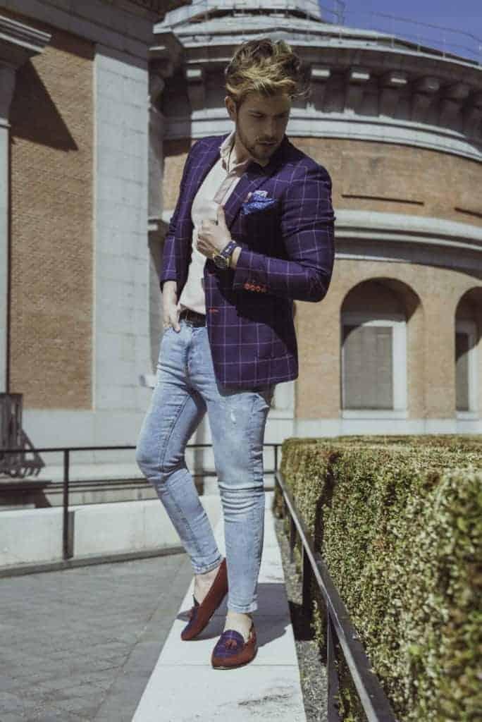 Gautier 4 - Bere Casillas diseña suprimera colección de zapatos con los tejidos de sus trajes y americanas.