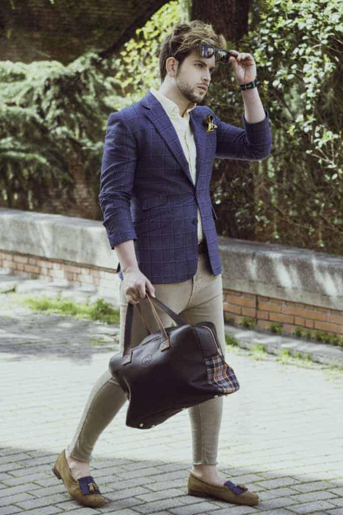 Gautier - Bere Casillas diseña suprimera colección de zapatos con los tejidos de sus trajes y americanas.