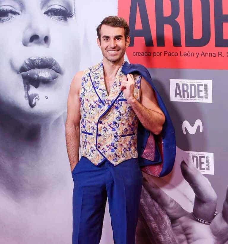 Daniel Muriel con chaleco Bere Casillas