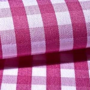 Camisa a medida cuadros rosa