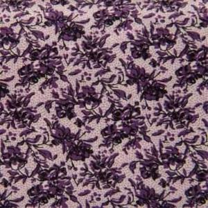 Camisa a medida flores lilas