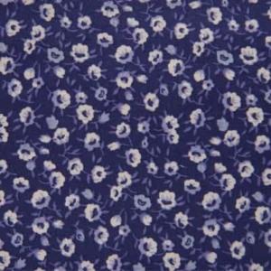 Camisa a medida flores moradas