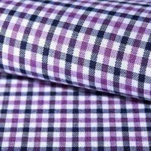 Camisa a medida cuadro vichy