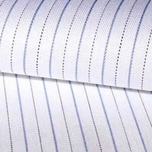 Camisas a medida raya blanca