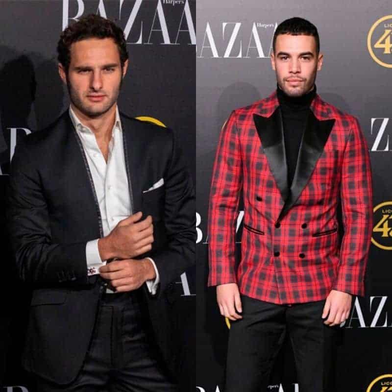 Hombres mejor vestidos esmoquin