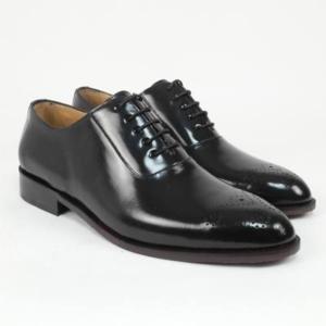 Zapato personalizado florentic negro flor maría