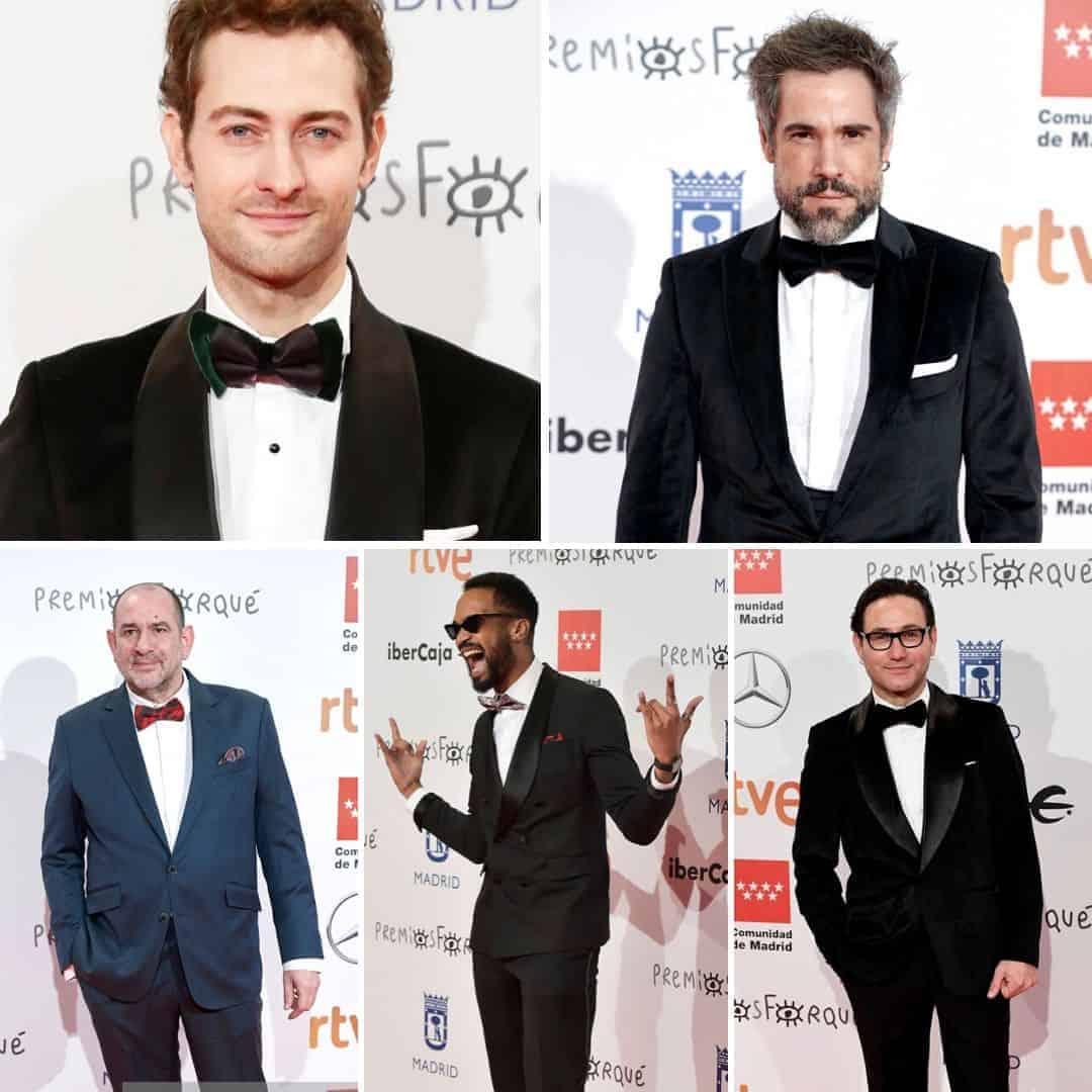 Hombres elegantes premios Forqué
