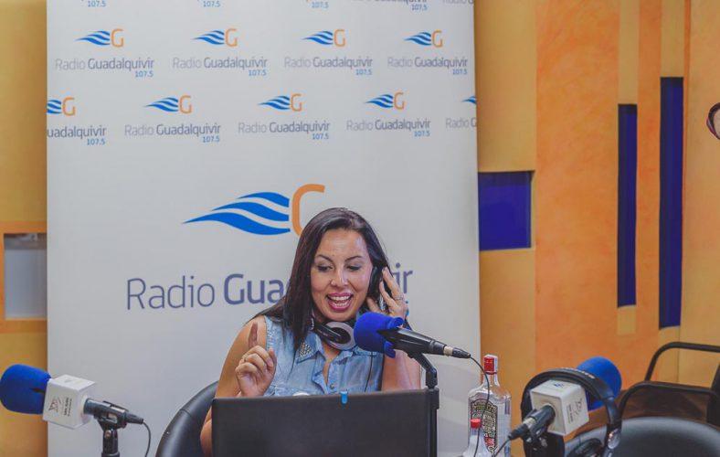"""Bere Casillas en el programa de radio, """"Silvia te orienta""""."""